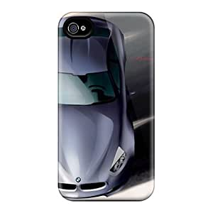High-end Cases Covers Protector For Iphone 4/4s(bmw Concept Cs Top Sketch)