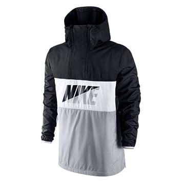 Nike HALFZIP JACKET - Chaqueta para hombre, color negro/blanco/gris, talla 2XL: Amazon.es: Deportes y aire libre