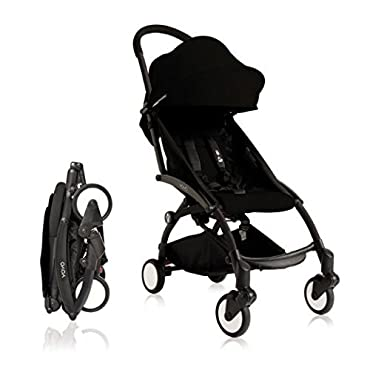 BabyZen 2017 Yoyo + Stroller Black Frame (Black)
