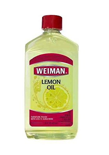Gently! Weiman Lemon Oil Furniture Polish Lemon16.0 fl oz(3pk)