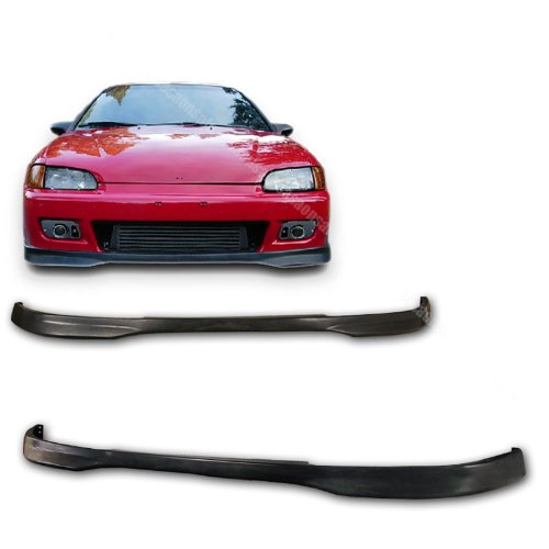 Front Bumper Lip Type (NEW - 92 93 94 95 Aftermarket Made HONDA CIVIC 2/3dr TYPE-R Front PU Bumper Add on Lip)