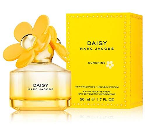 Marc Jacobs Daisy Sunshine Eau de Toilette Spray for Women, 1.7 Ounce, Multicolor