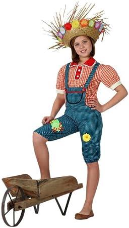 Atosa - Disfraz de granjera para niña, talla 5-6 años (16021 ...