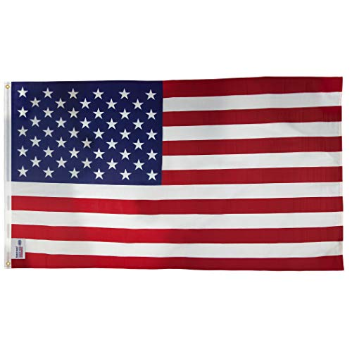5' Poly Cotton Flag - 8