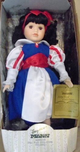 Snow White - Story Book Collection porcelain doll by Seymour Mann