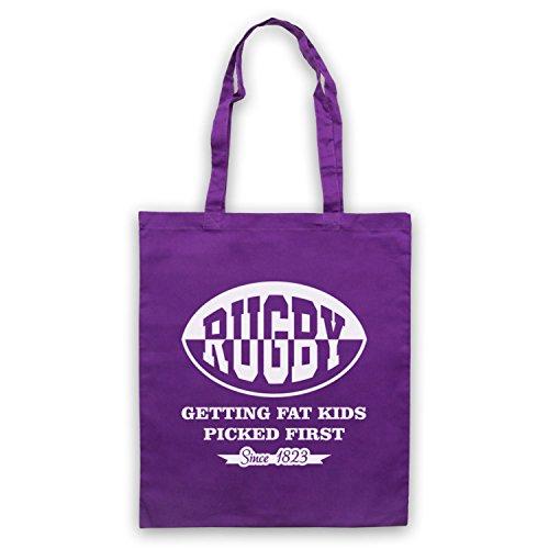 Fat salite Kids Rugby dasyaididae Rugby custodia First Violett borsa wFqxT5C