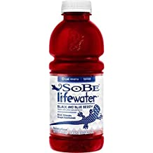 SoBe Lifewater, Black and Blue Berry , 20 Oz (Pack of 12) by Sobe Lifewater