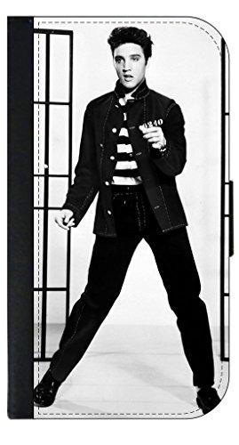 Lea Elliot Elvis Presley-Jailhouse Rock PU Leather Apple iPhone 6 Plus/6S Plus Wallet Case by Lea Elliot Inc.