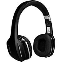 Ausdom M07 On-Ear Wireless Bluetooth Headphones with Microphone Foldable and Lightweight Headsets Compatible with Cell phones and other Bluetooth Devices, Black
