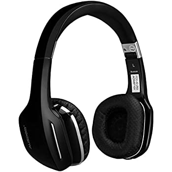 69e5cf53073 Ausdom M07 On-Ear Wireless Bluetooth Headphones with Microphone Foldable  and Lightweight Headsets Compatible with