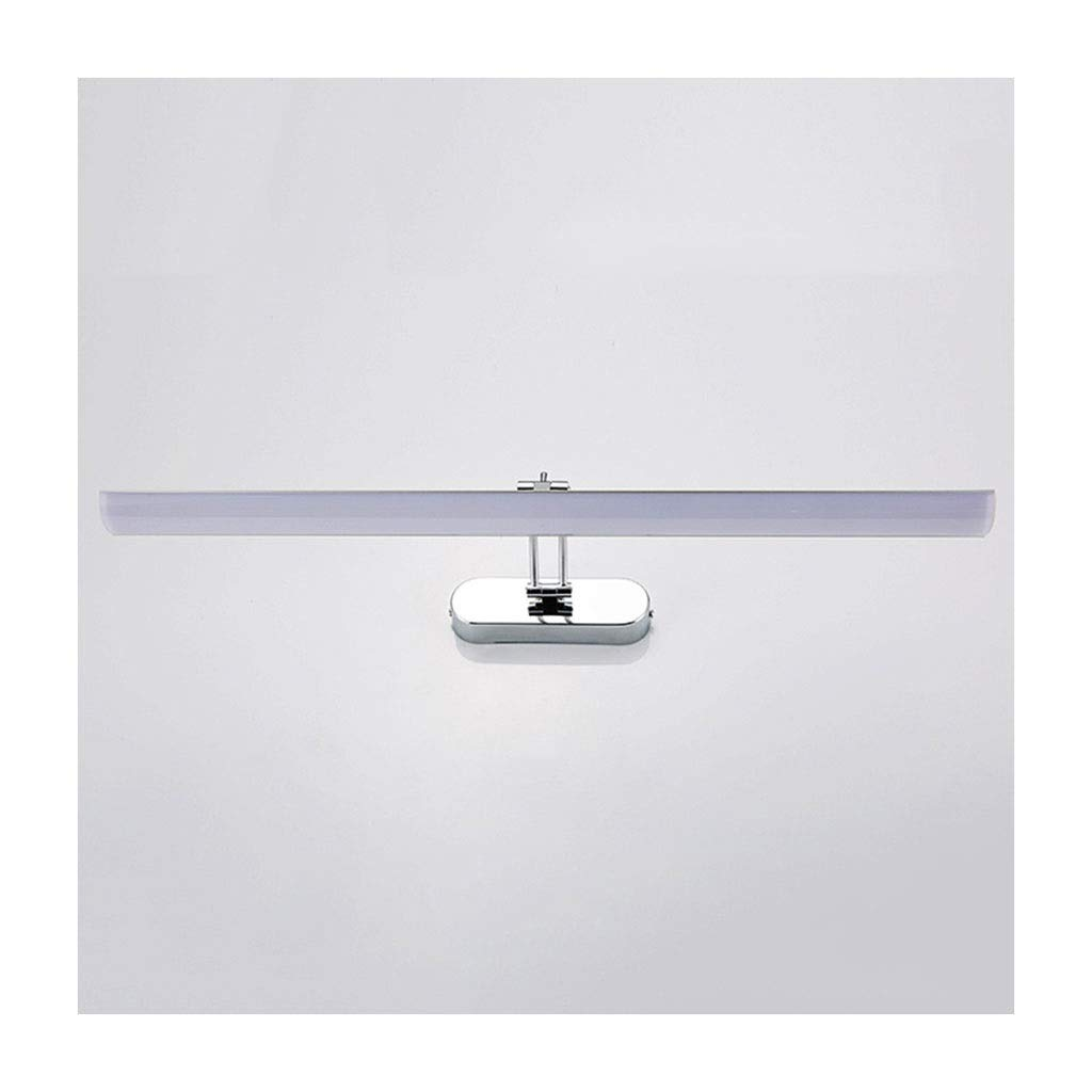 @Badezimmer Lichter LED Spiegel Scheinwerfer Wandleuchte Makeup Lampe Spiegel Lampe Schlafzimmer Wohnzimmer Einstellbare Wandleuchte Deckenleuchte (Farbe   Neutrales Licht-80CM)