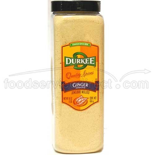 Durkee Ground Ginger - 16 oz. container, 6 per case by Durkee