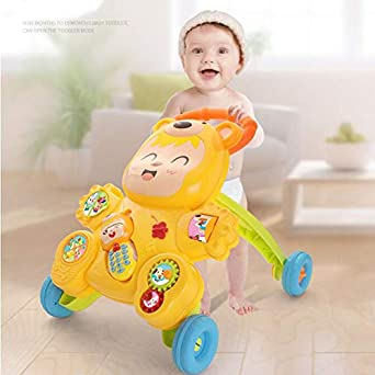 Amazon.com: AIBAB 0-2 Years Old Baby Walker Aggravation ...