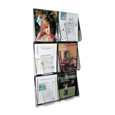 DEF56401 - Multi-Pocket Wall-Mount Literature Systems