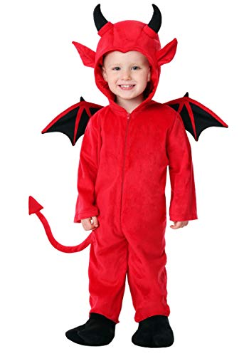 Toddler Adorable Devil Costume 2T -