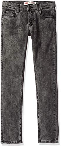 Levi's Boys' Big 519 Extreme Skinny Fit Jeans, Death Valley, 8