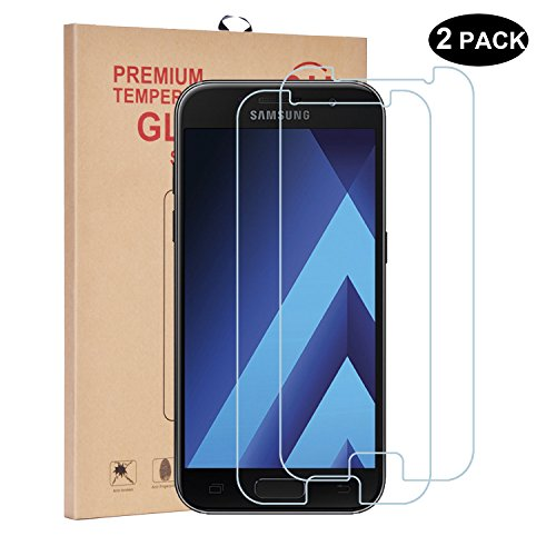 Tempered Glass Screen Protector for Samsung Galaxy A3 - 3