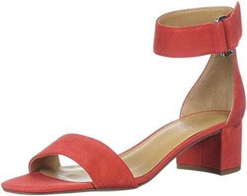 Rosalina Heeled Sandal, Red Apple, 6 M US ()
