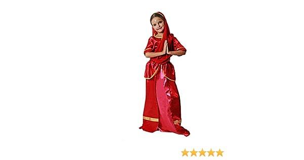 Costumizate! Disfraz de Hindú para niña Talla 3-4 Especial para ...