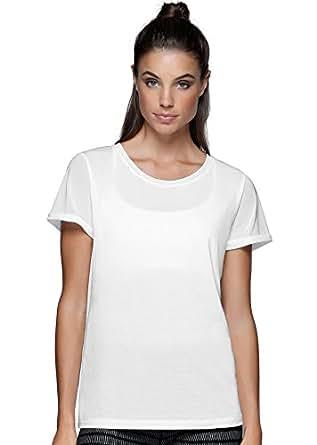 Lorna Jane Women's LJ Tech T-Shirt, White, XS