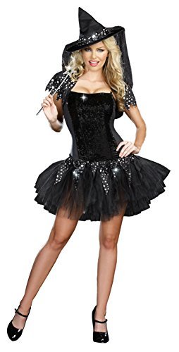 Starry Night Witch Costumes - Starry Night Witch Costume - Medium