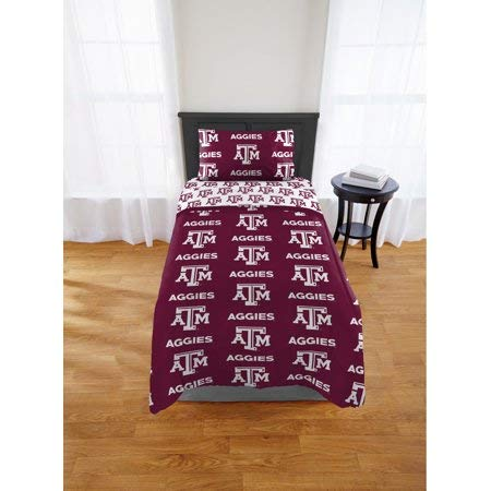 Texas A&m Quilt - Official Texas A&M Aggies Twin Bed in Bag Set