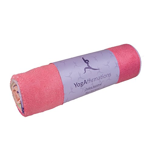 Premium Quality Yoga Mat Towel By YogAffirmations – Non