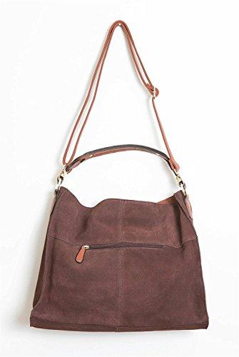 Simply Noelle Vegan Suede Biltmore Hobo Handbag in Black by Simply Noelle (Image #1)