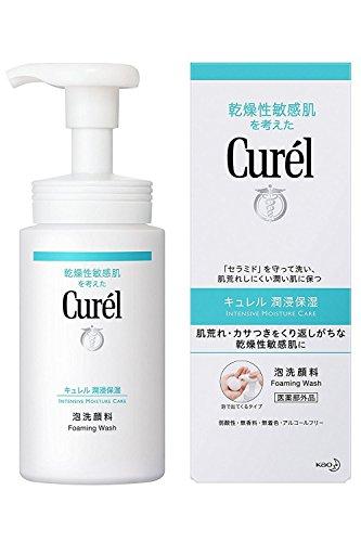 Curel Kao Foaming Wash, 5.07 Fluid Ounce by Curel