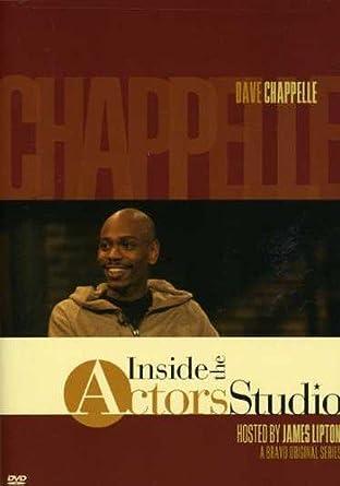 Amazon Com Inside The Actors Studio Dave Chappelle James Lipton