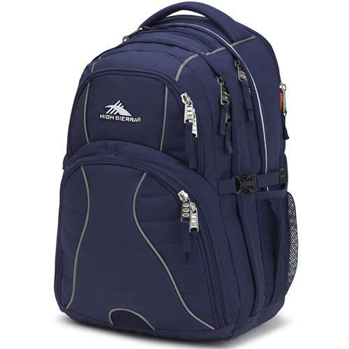- High Sierra Swerve Laptop Backpack, True Navy