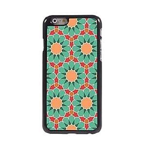 Mini - Green Flower Aluminum Hard Case for iPhone 6