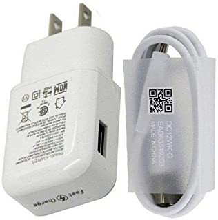 Amazon.com: Genuine LG Quick Wall Charger + Micro USB Cable ...
