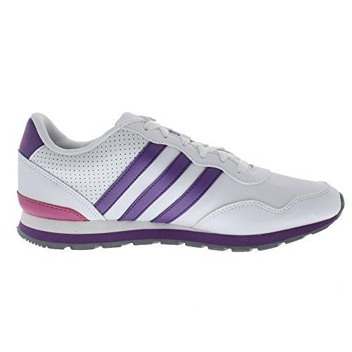 Turnschuhe Adidas weiß Lila v Unisex Sneaker Q38883 30 Jogger runneo K 4qf1Hq