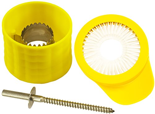 Corn Cutter And Creamer Kit - Includes Corn Cutter, Stainless Steel Cob Screw Drill Bit, And Desilking -