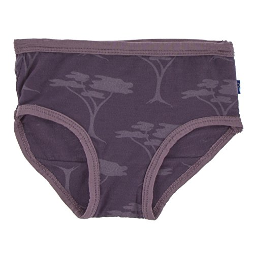 09b275f88c37 Galleon - Kickee Pants Print Women's Underwear Fig Acacia Tree (Medium)