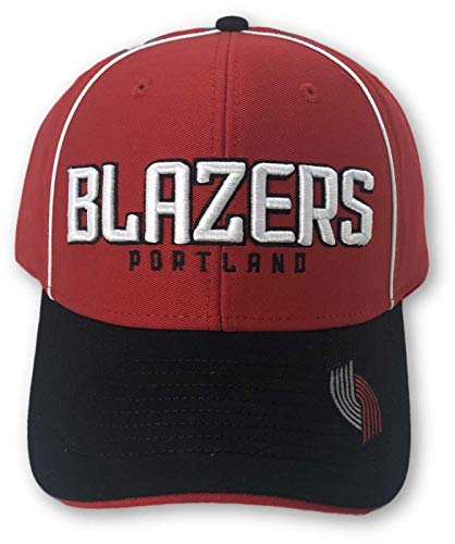- Reebok Portland Trail Blazers Structured Adjustable Hat red