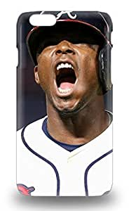 Shock Dirt Proof MLB Atlanta Bravs Justin Upton #8 3D PC Soft For For Ipod Touch 4 Phone Case Cover ( Custom Picture For Ipod Touch 4 Phone Case Cover )