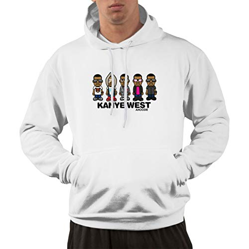 Reppusily Men's Kanye West Wallpaper Fahsion Pullover for sale  Delivered anywhere in Canada