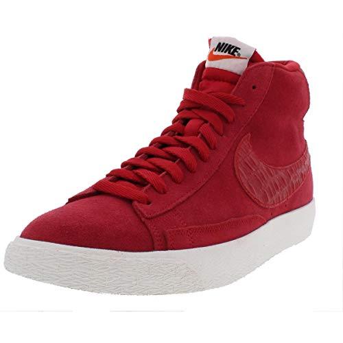 Nike Suede Blazer - Nike Mens Blazer Mid Premium Vintage Suede Fashion Sneakers Red 11 Medium (D)