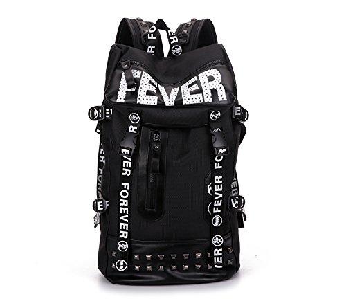 CLCOOL Bergsteigen-TascheWandern rucksack outdoor Klettern Bergsteigen Reisen Camping wasserdichte Unisex Taschen & Radfahren Paket , schwarz