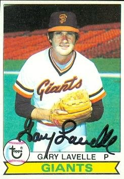 Autograph Warehouse 76931 Gary Lavelle Autographed Baseball Card San Francisco Giants 1979 Topps No .311 Gary Lavelle Autographs