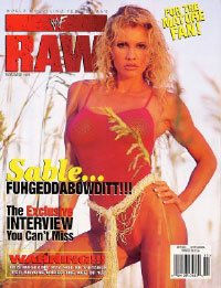 WWF RAW Wrestling Magazine November 1998: Sable