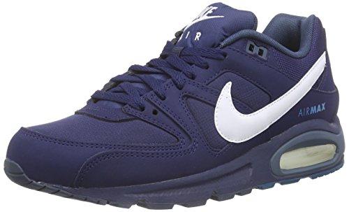 Nike Air Max Command, Zapatillas de Running para Hombre Azul / Blanco (Midnight Navy / White-Sqdrn Blue)