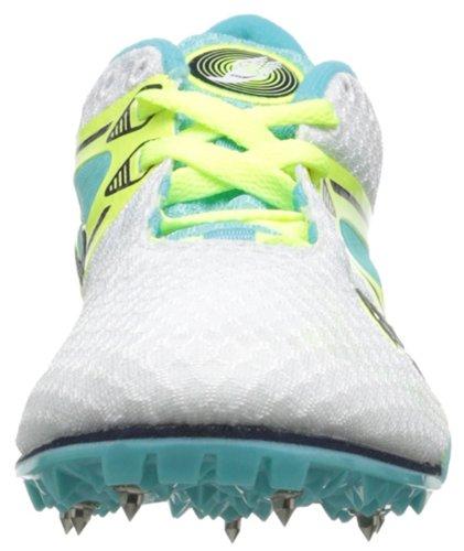 Saucony Velocity camiseta de pista de zapatos White/Blue/Citron