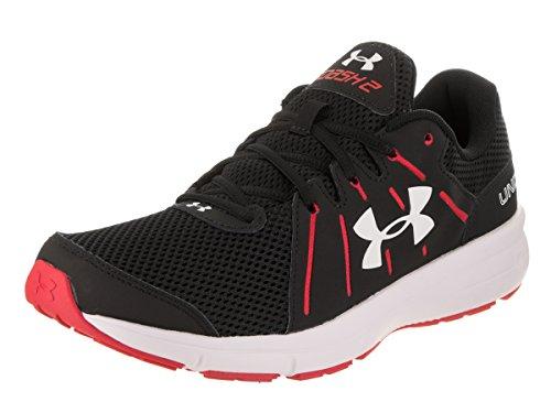 Under Armour Ua Dash Rn 2, Chaussures de Running Homme, Noir (Black), 42 EU