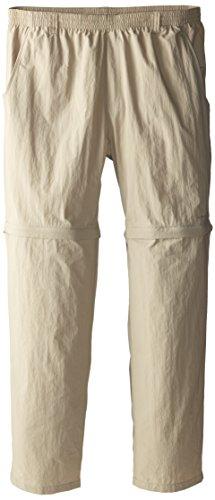 Columbia Sportswear Men's Backcast Convertible Pant, Fossil, (Convertible Poplin Pant)