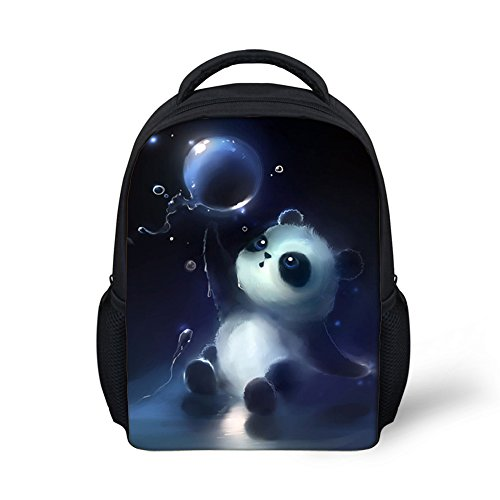 Dellukee Toddler Backpack For Boys Girls Small Pre School Bags Daypack Panda by Dellukee