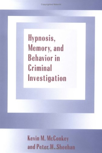 Hypnosis, Memory, and Behavior in Criminal Investigation