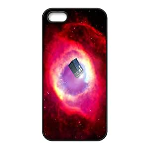 Popular Doctor Who Watercolor Tardis For Apple Iphone 5 5S Cases KHR-U588599
